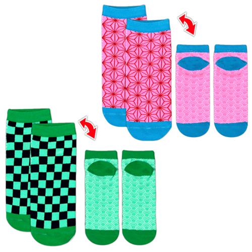 和柄 カラフル靴下 ver.2
