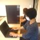 コロナ対策スライド式パーテーション スライドパーテーション 飛沫防止 アクリル板 間仕切り 学校 塾 オフィス