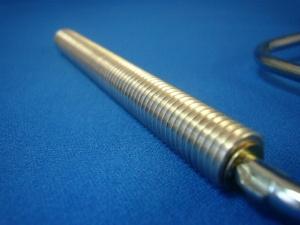 アルミ大径FRPローラー 巾100mm幅4インチ 芯径25.0mm