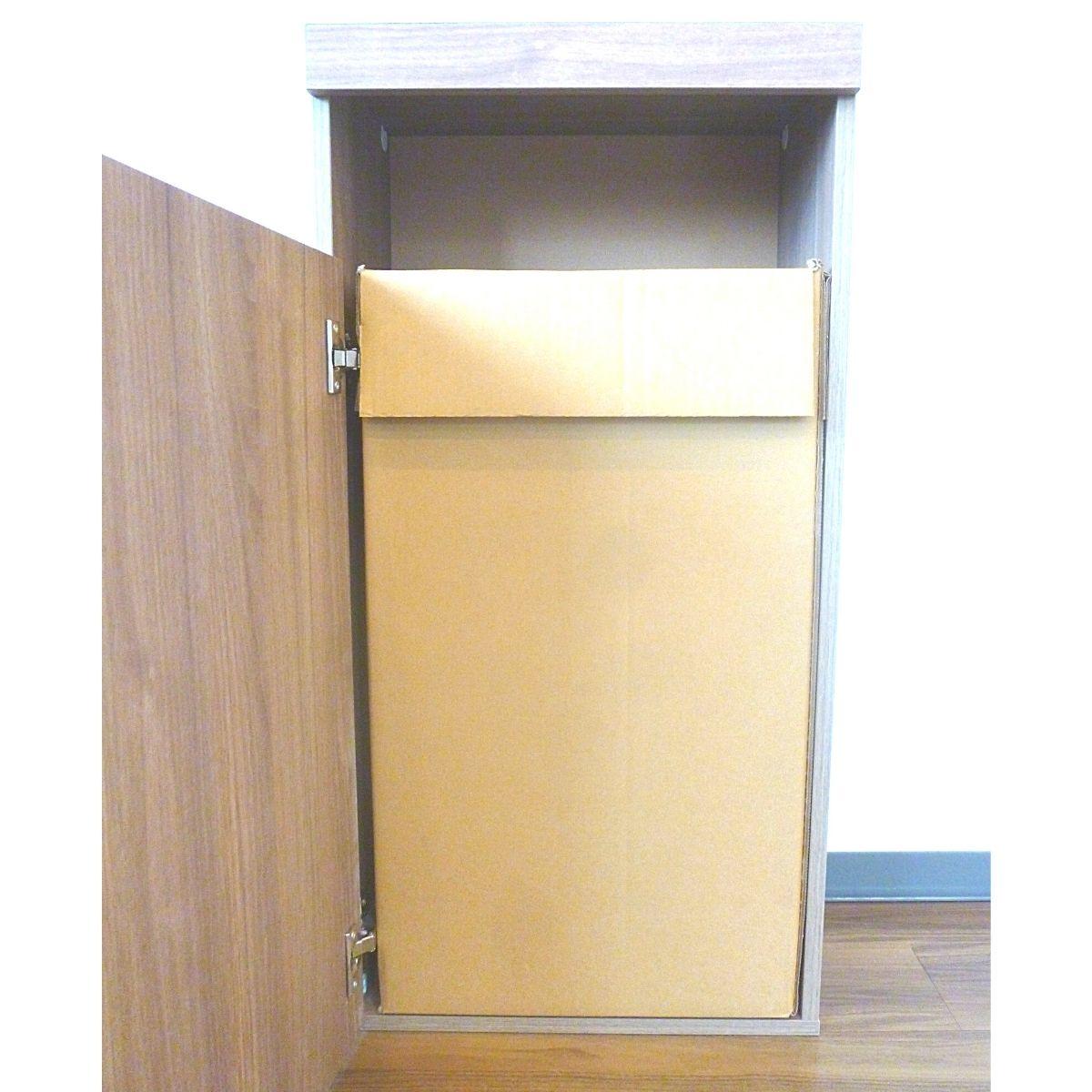 グレイエルムシリーズ・ごみボックス 取替専用ダンボール 交換用 ぴったりサイズ オフィス・店舗用 大容量70L 5枚セット