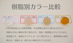【FRP樹脂 ノンパラ 1kg】ワックスなし