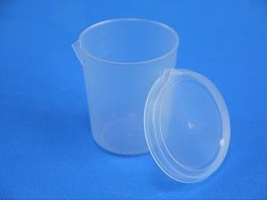 【カップ容器 150ml】フタ、注ぎ口、目盛り付