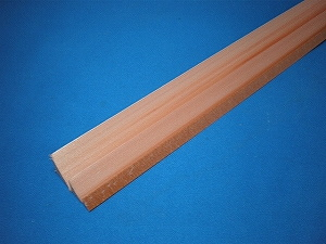 角水切りクランウッド面木・長さ2,000mm KS−15  100本入り(メーカー直送品)