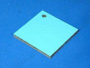 【薄青トップコート0.9kg】防水・水槽など用トップコートライトブルー 高耐候性 イソ系