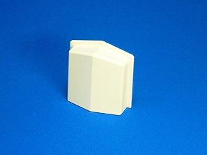 【オーバーフロー外壁キャップ10個セット】 ホワイト