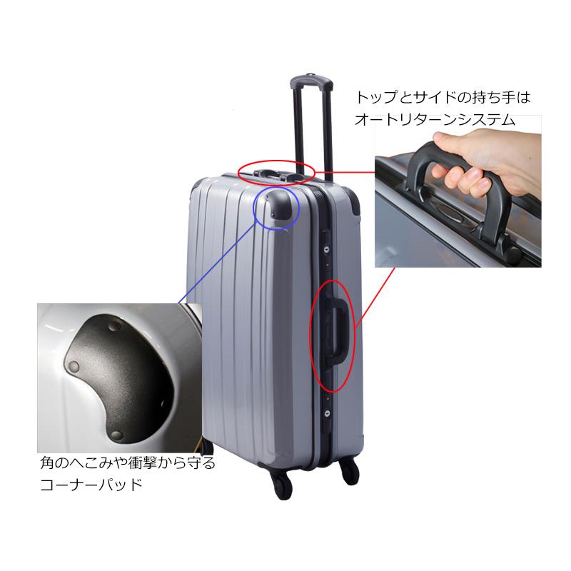 法人様限定 プロテクトPG2ハードキャリー Mサイズ スーツケース 鏡面加工 ハードケース