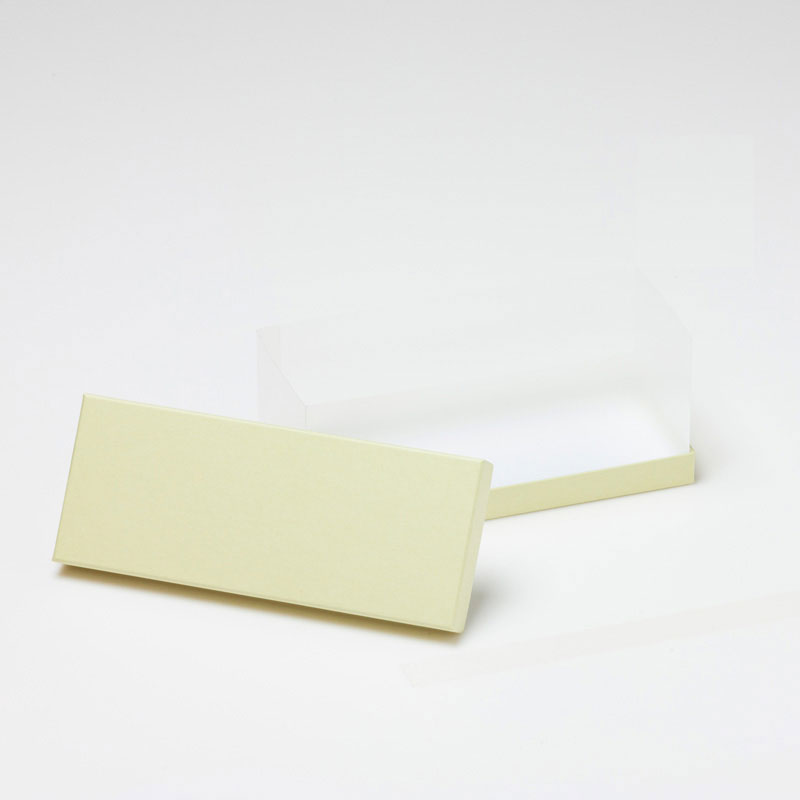 焼き菓子用 長方形 サイドクリアギフトケース (1セット100個入)