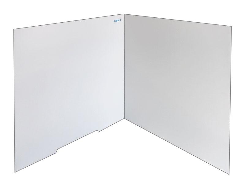 飛沫対策デスクパーテーション Aタイプ(1セット:5枚入)