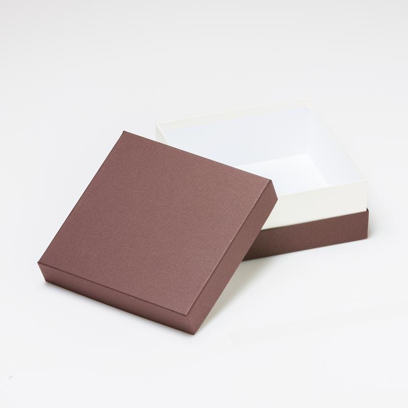 焼き菓子用ギフト箱 正方形コンビA【S】(1セット100個入)