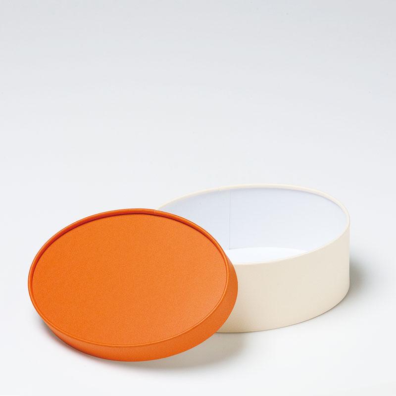 お菓子用ギフト箱 CANCAN オーバル フェザー【L】(1セット50個入)