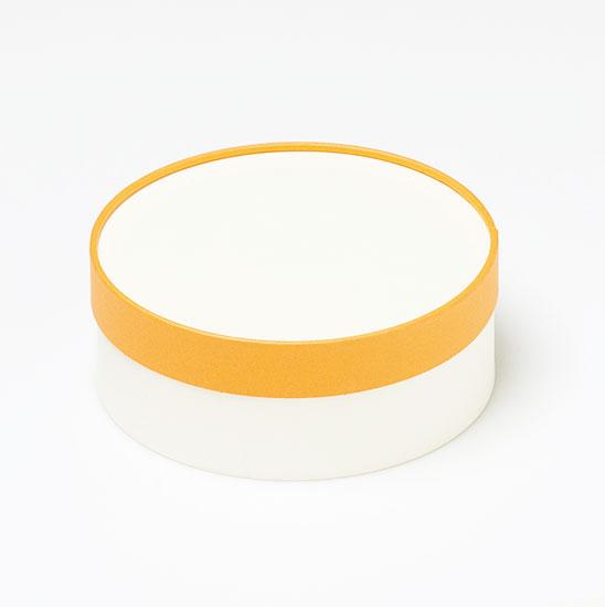 お菓子用ギフト箱 CANCAN サークルフェザー 【ケーキ用トレー付選択可】 (1セット100個入)