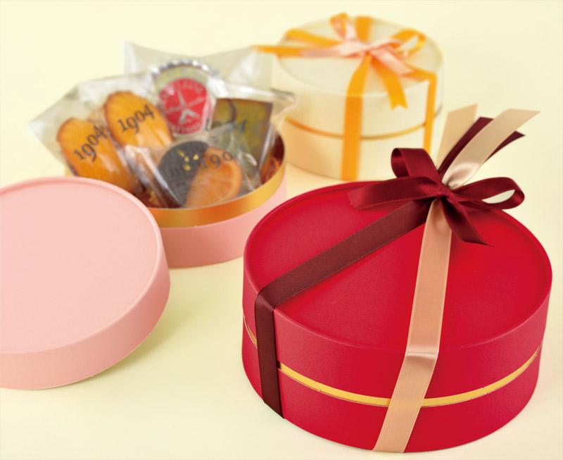 お菓子用ギフト箱 CANCAN サークルコンビA【L】(1セット50個入)