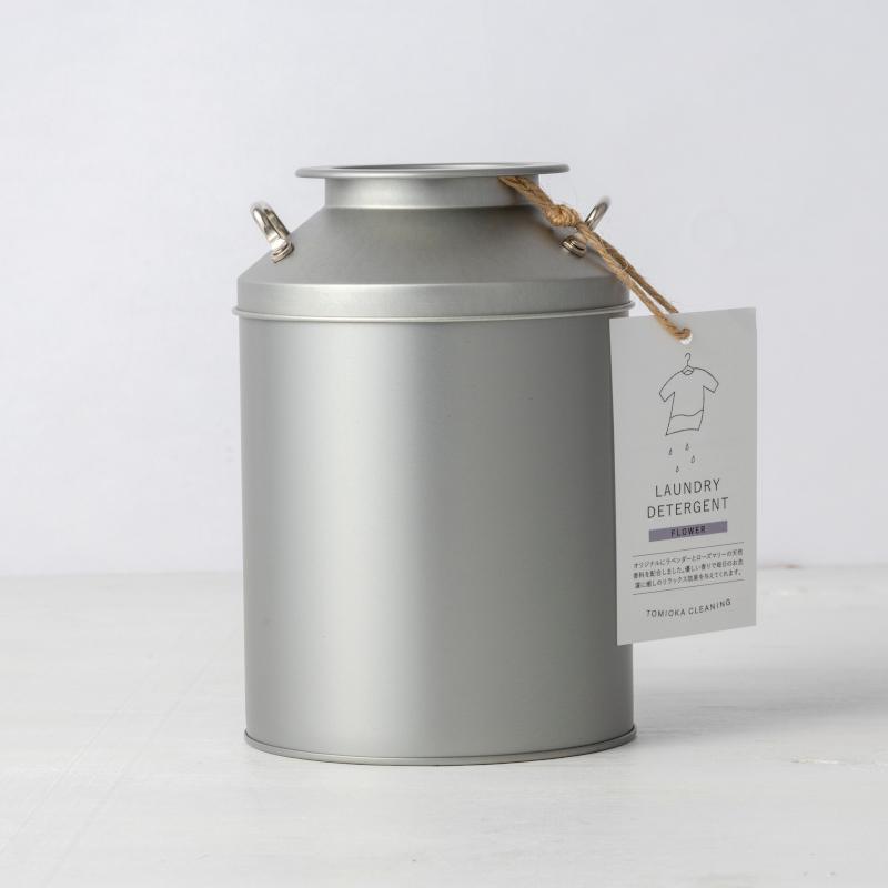 ミルク缶+詰替えギフト・フラワー