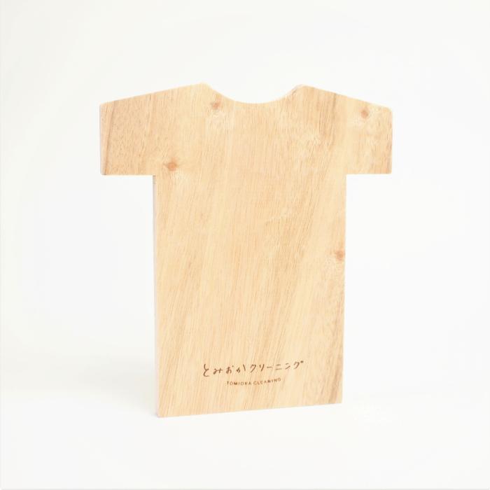 オリジナル くすのき防虫板 Tシャツ型