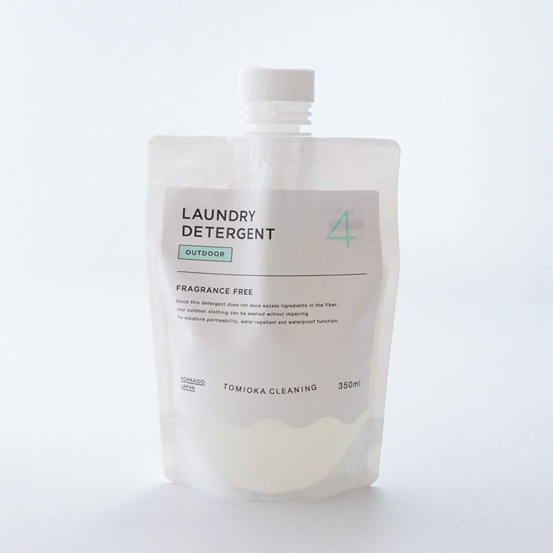 OUTDOOR (防水・撥水加工製品用洗剤)