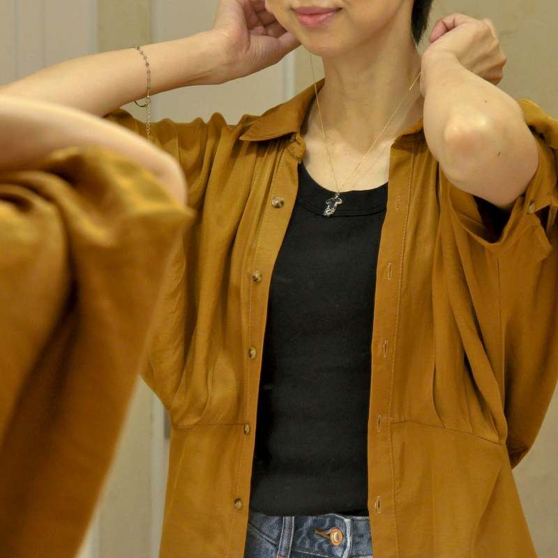 HARIO・とみおかクリーニング・シャツ型・ネックレス