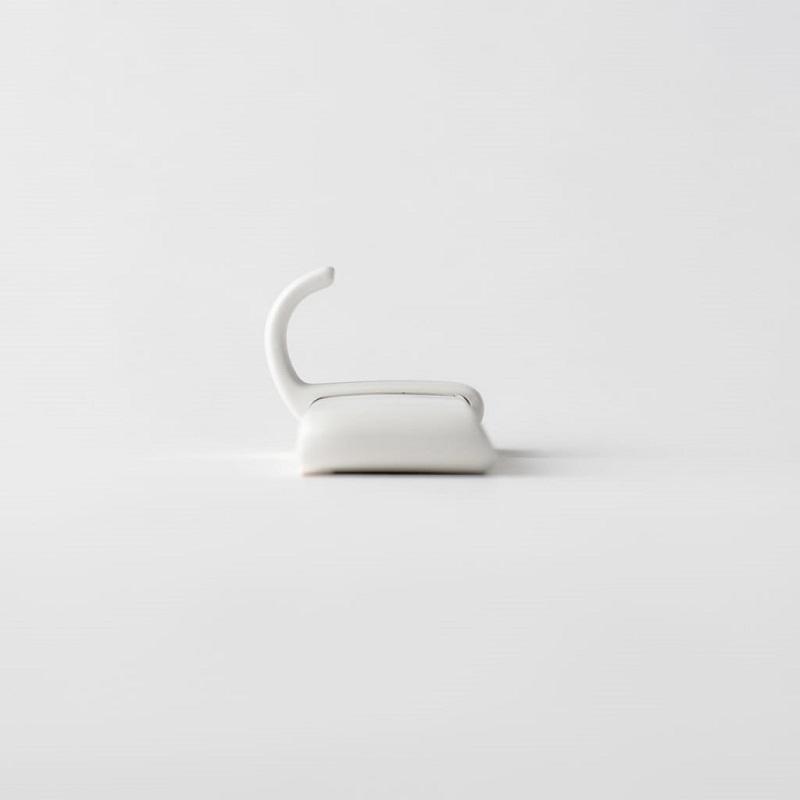 MARNA・お風呂のマグネットフック・ホワイト
