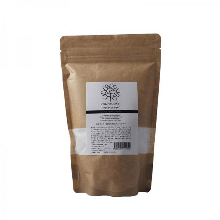 ミネラルいっぱいのカキ殻パウダー<br>コズミックバスパウダー(入浴剤)