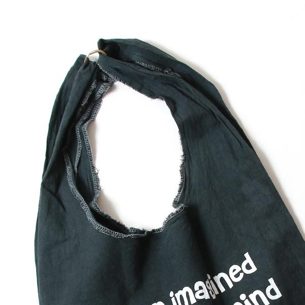 エコバッグ(折りたたみ)-おしゃれで人気の手染めエコバッグ「Vicky & Mini BAG」(Black)