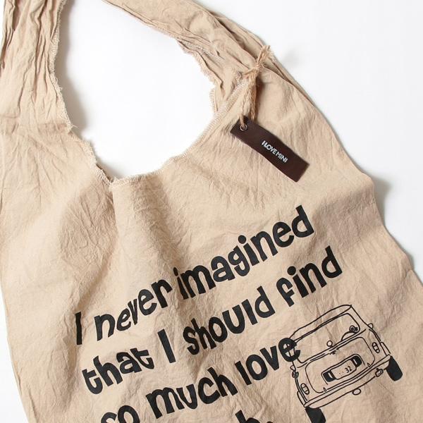 エコバッグ(折りたたみ)-おしゃれで人気の手染めエコバッグ「Vicky & Mini BAG」(Coffee)