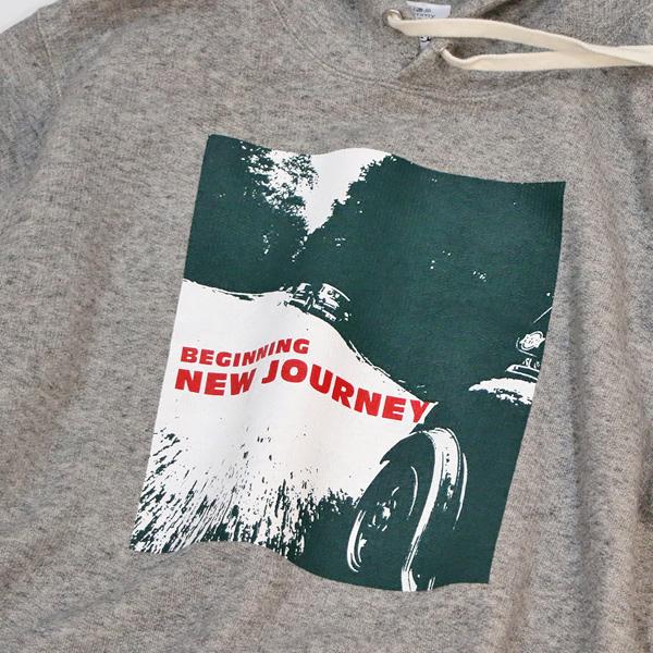 クラシックミニ ツーリングパーカー「New Journey パーカー」(グレー)