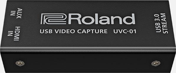 Roland UVC-01 USBビデオ・キャプチャー