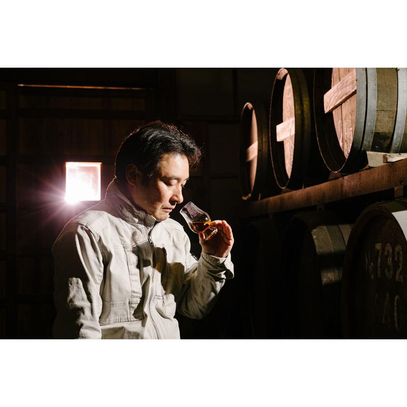 【えびす酒造】 らんびき SHINY GOLD AMERICAN OAK CASK12年 麦焼酎42度 500ml