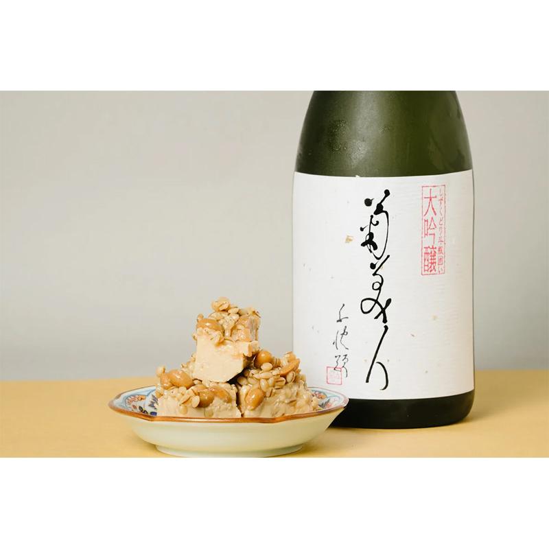 【菊美人酒造】菊美人(きくびじん) 大吟醸しずくどり斗瓶囲い 720ml×豆腐のみそ漬け