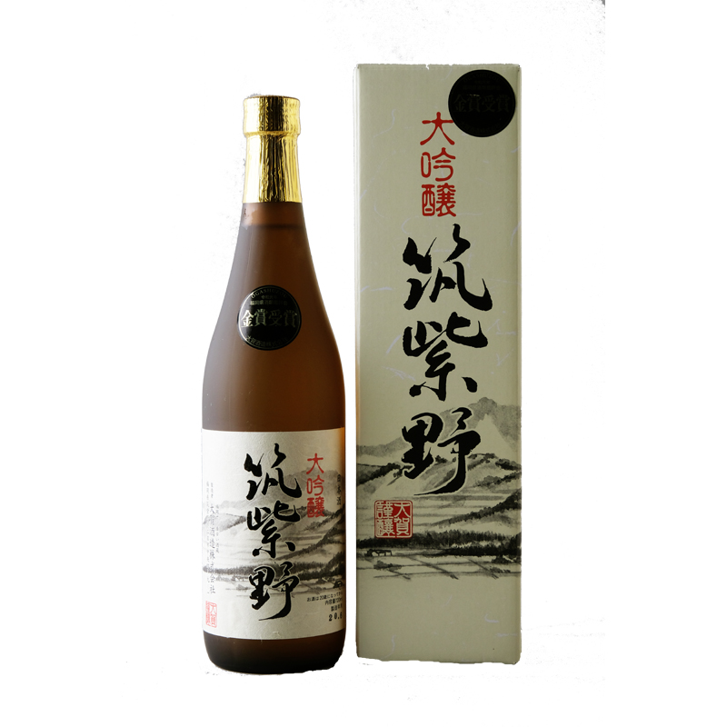 【大賀酒造】 筑紫野 大吟醸酒 720ml