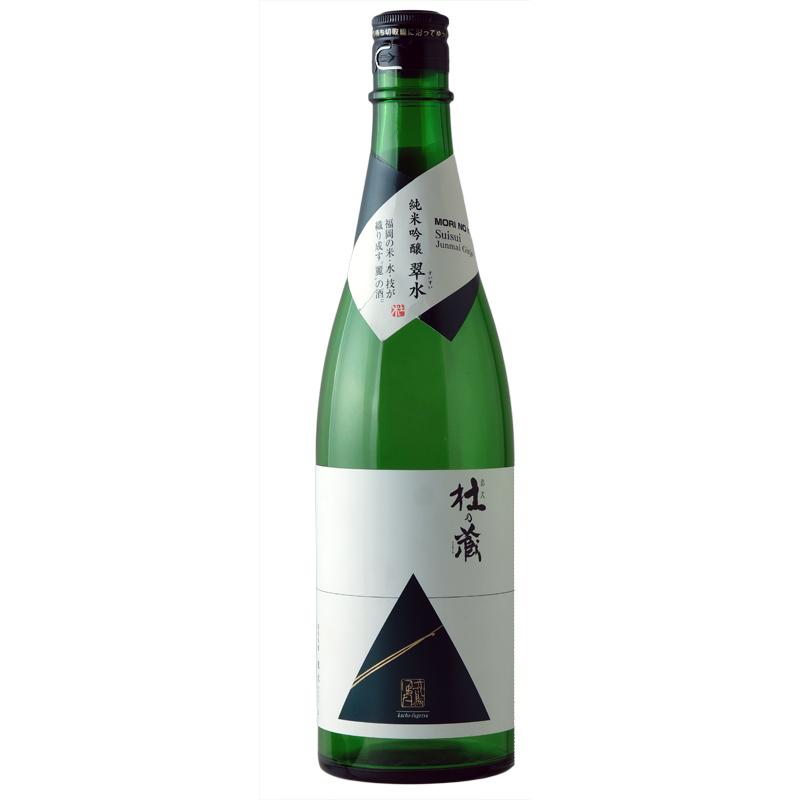 【杜の蔵】杜の蔵 純米吟醸 翠水  ふろしき包み  720ml
