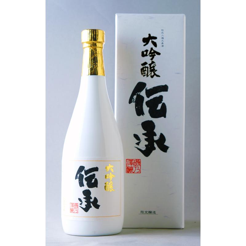 【いそのさわ】 磯乃澤 大吟醸 伝承 720ml ※専用箱付き