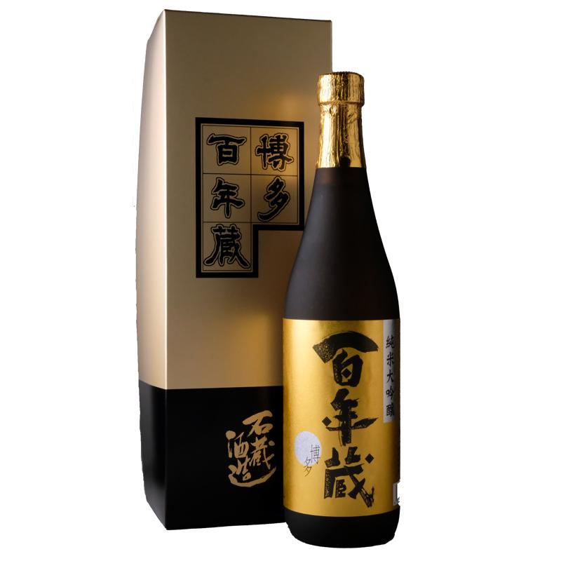 【石蔵酒造】百年蔵 純米大吟醸 (専用箱付き) 720ml