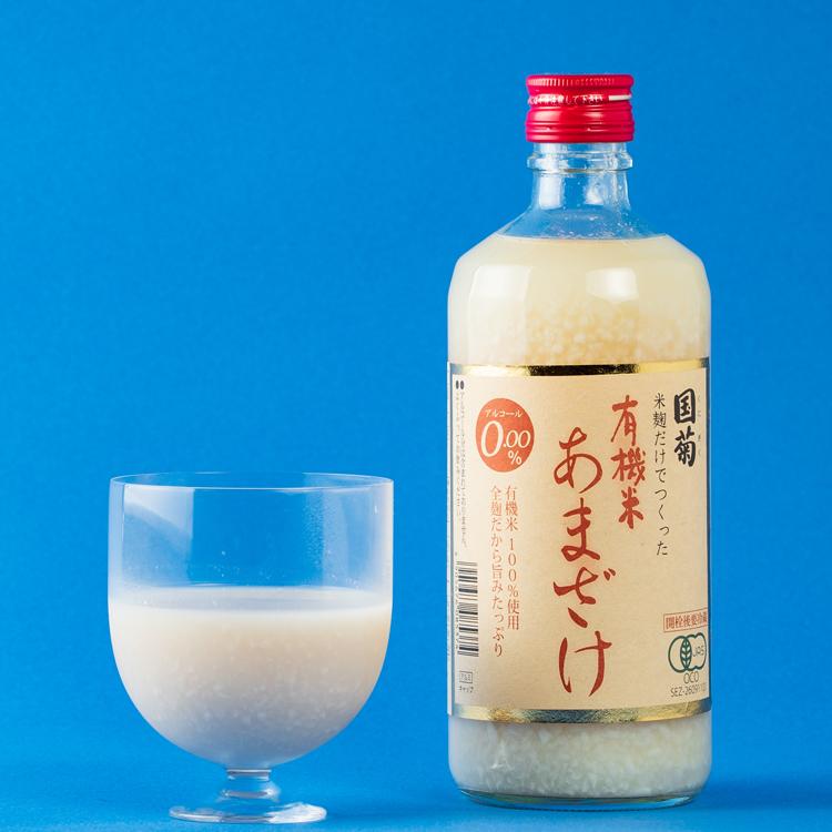 【篠崎】比良松 純米大吟醸 挑(いどむ) 35% 720ml× 国菊有機米あまざけ 550ml セット