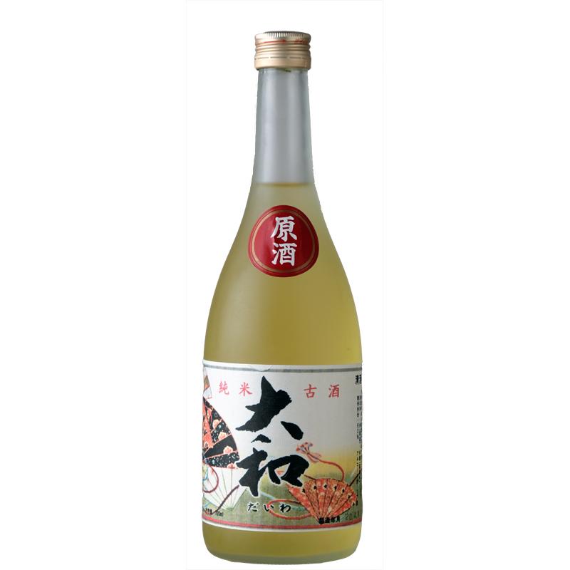 【旭松酒造】純米古酒 大和 (専用箱付き)  720ml