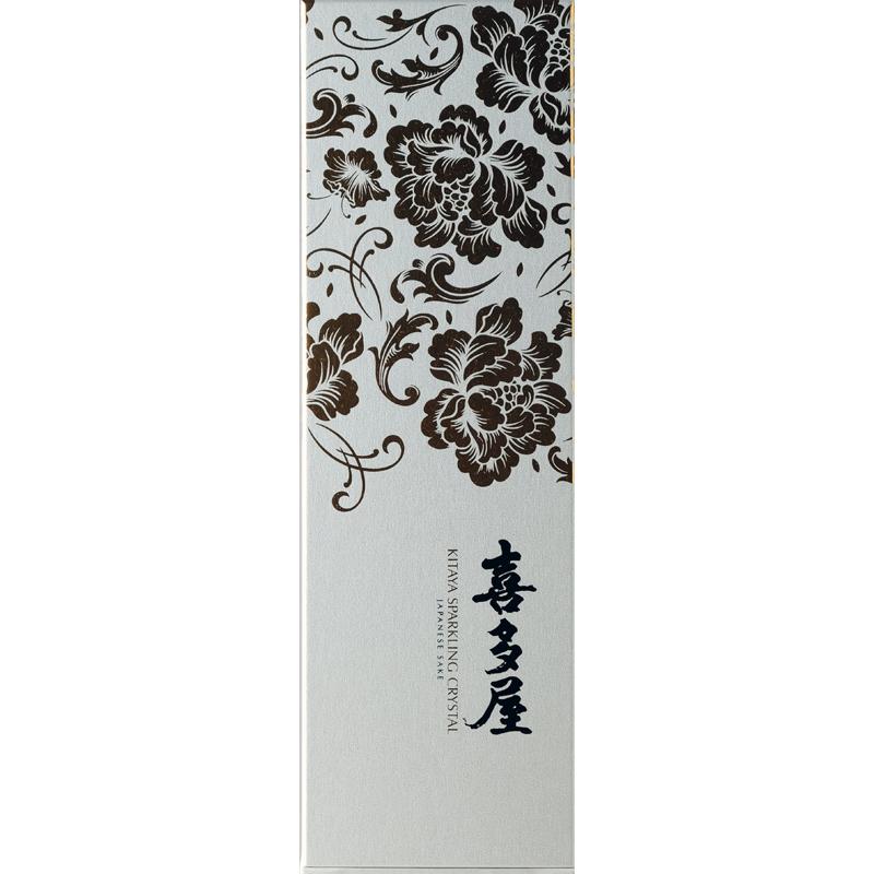 【喜多屋】喜多屋 スパークリング クリスタル 720ml  (専用箱付き)