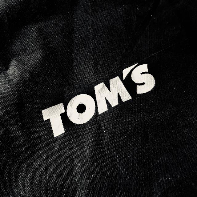 トムス レインポンチョ(黒)