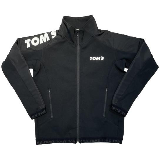 トムストラックジャケット(黒×黒)