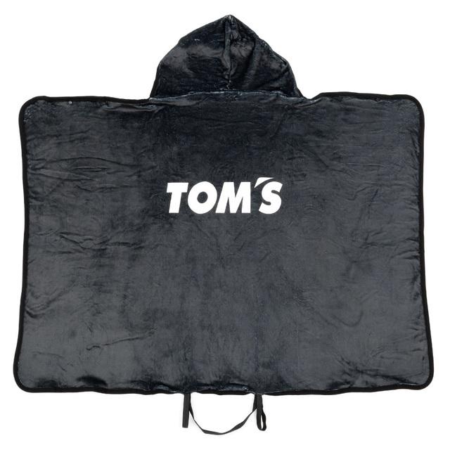 トムス フード付きブランケット