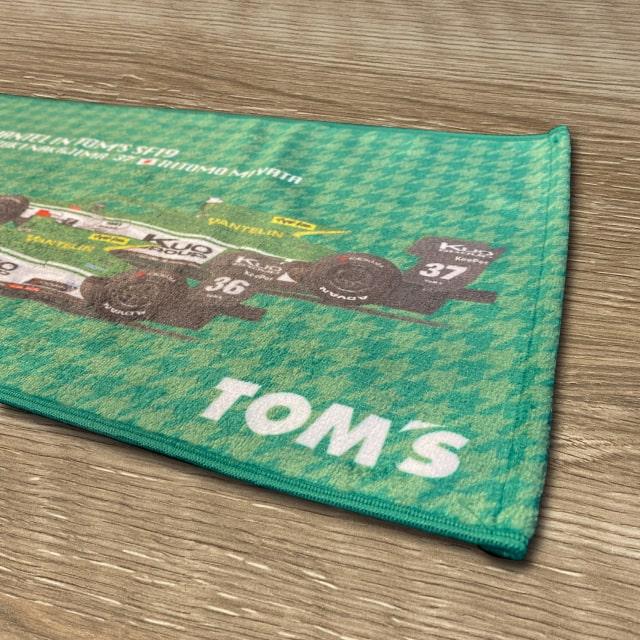 応援タオル2021 Kuo VANTELIN TEAM TOM'S ver.