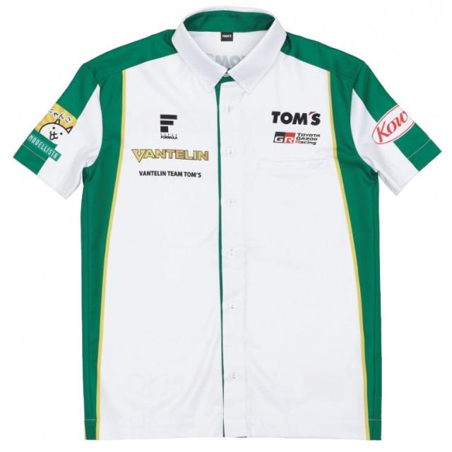 【2020モデル】Super Formula VANTELIN チームピットシャツ