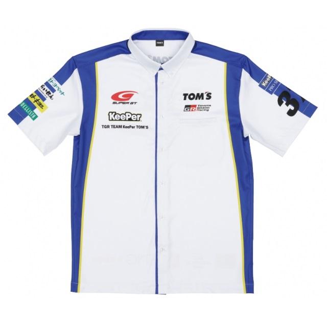 2020-21 SUPER GT 37号車 KeePerチームピットシャツ