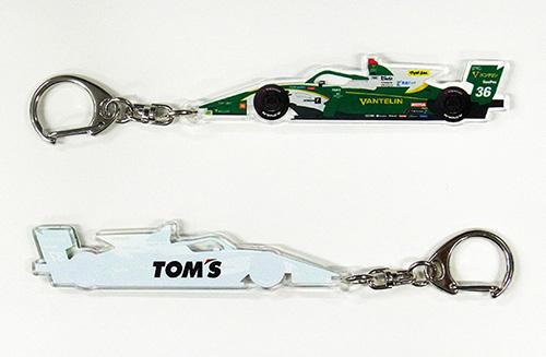トムス SUPER Formula キーホルダー 36