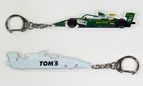 トムス SUPER Formula キーホルダー 37