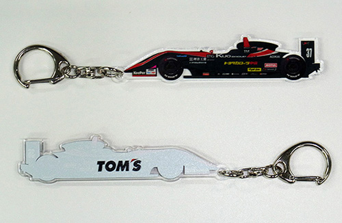 トムス Formula 3 キーホルダー 37