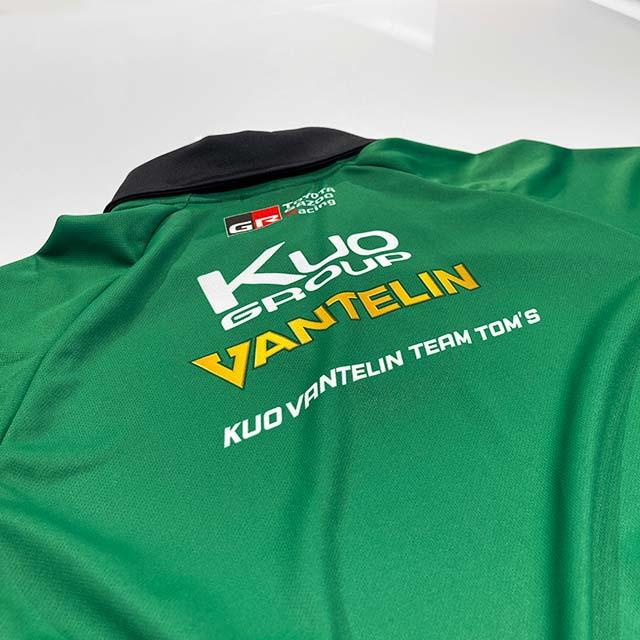2021 SUPER FORMULA VANTELINチームZIPポロシャツ