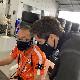 【接触冷感タイプ】トムスチームマスク 黒(全3サイズ)