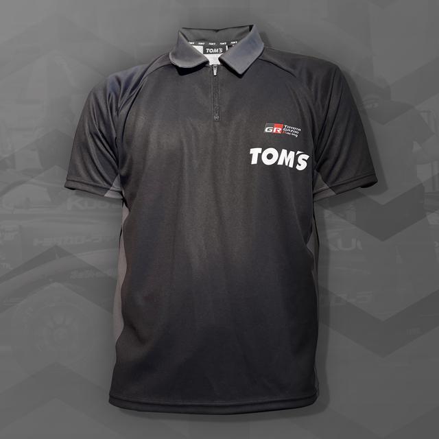 2021 TEAM TOM'S チームZIPポロシャツ