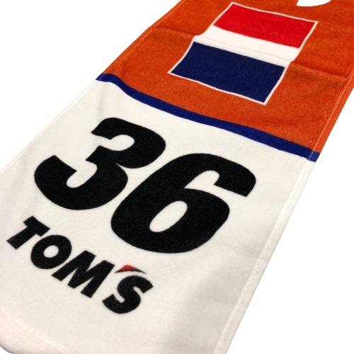 トムス SUPER GT 36号車au サッシャ・フェネストラズ応援マフラータオル