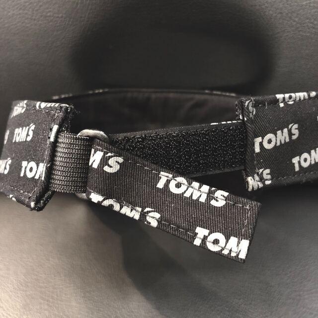 トムスロゴサンバイザー(黒)