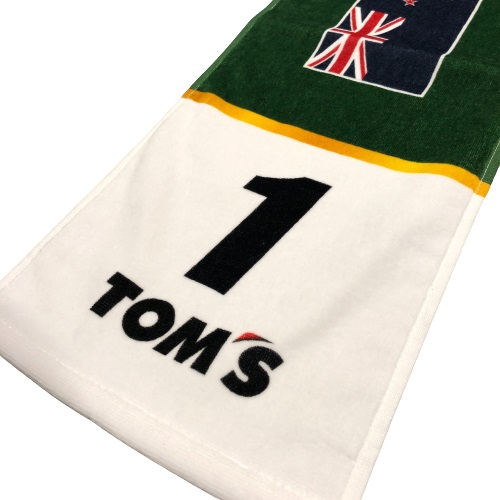 トムス Super Formula 1号車 ニック・キャシディ応援マフラータオル